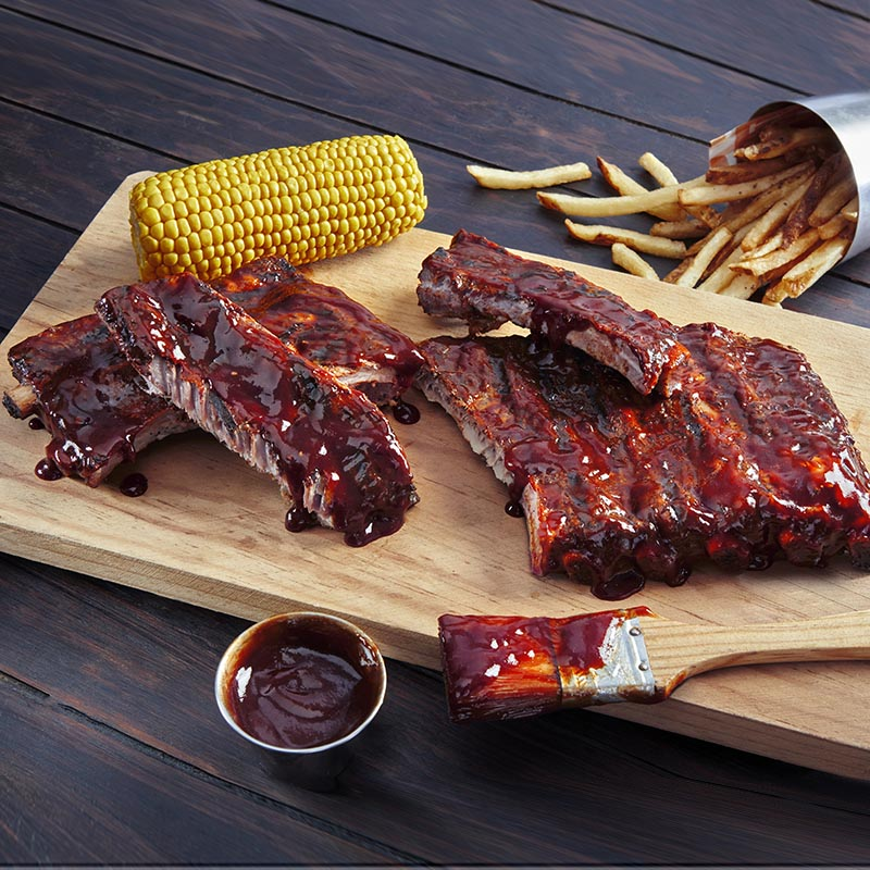 Double glazed Ribs